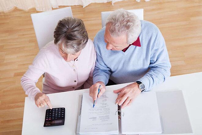 оплата налога на имущество пенсионерами